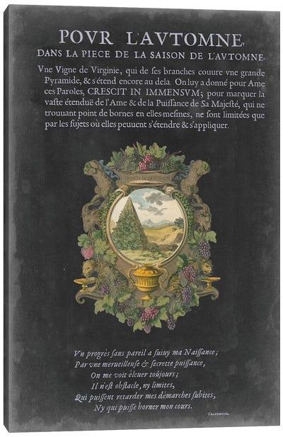 Vintage Bookplate II Canvas Art Print