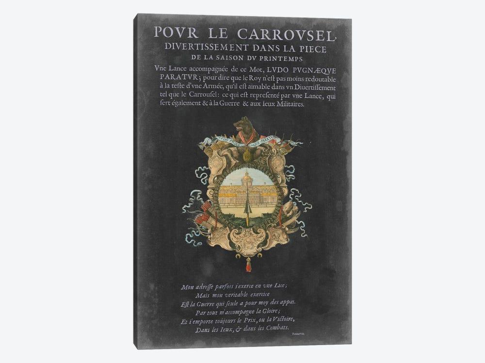 Vintage Bookplate IV by Vision Studio 1-piece Canvas Print