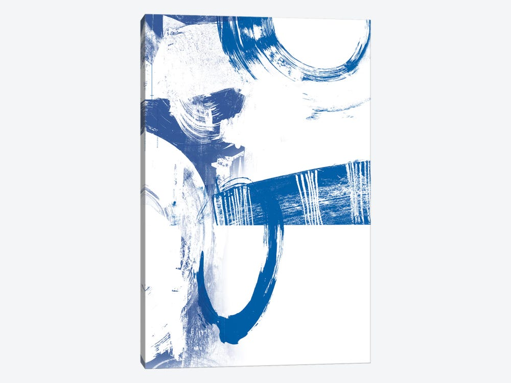 Blue Scribbles III by Vision Studio 1-piece Art Print