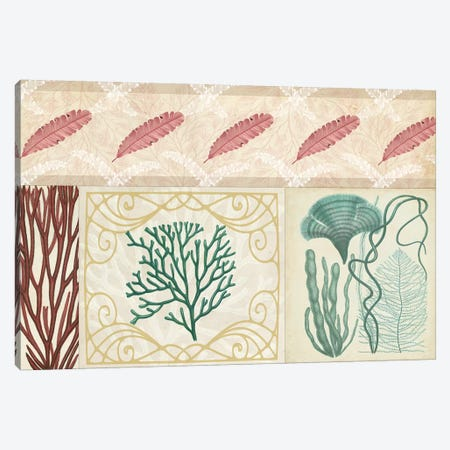 Coastal Patternbook IV Canvas Print #VSN148} by Vision Studio Art Print
