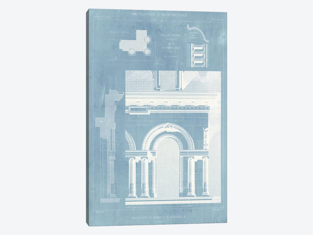 Details of French Architecture I by Vision Studio 1-piece Art Print