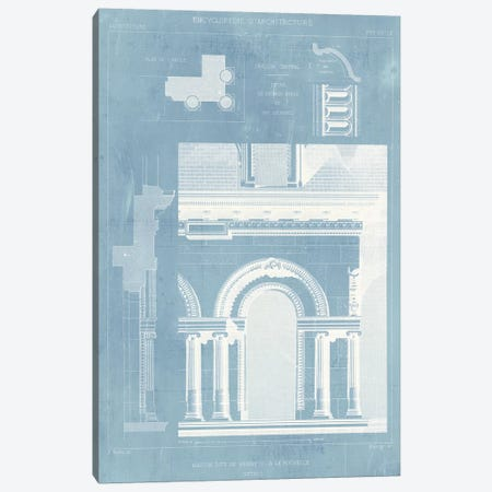 Details of French Architecture I Canvas Print #VSN149} by Vision Studio Canvas Art Print