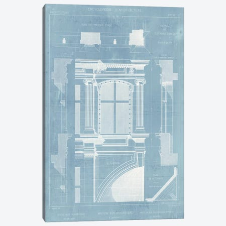 Details of French Architecture II Canvas Print #VSN150} by Vision Studio Canvas Wall Art