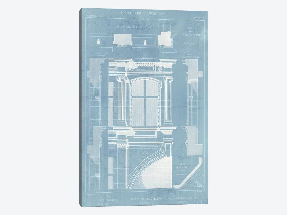 Details of French Architecture II by Vision Studio 1-piece Art Print