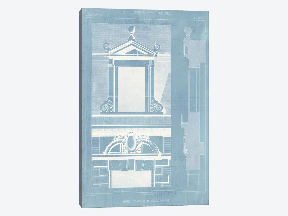 Details of French Architecture III by Vision Studio 1-piece Canvas Wall Art