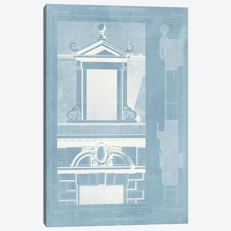 Details of French Architecture III Canvas Print #VSN151} by Vision Studio Canvas Wall Art