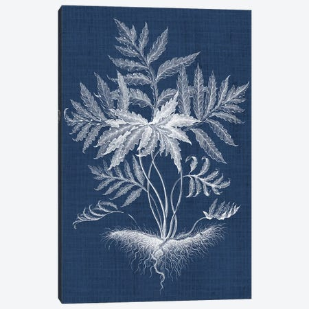 Foliage Chintz IV Canvas Print #VSN155} by Vision Studio Canvas Print