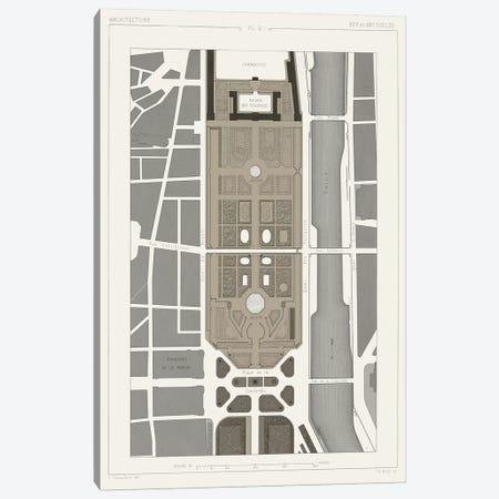 Palais des Tuileries, Paris I Canvas Print #VSN187} by Vision Studio Canvas Artwork
