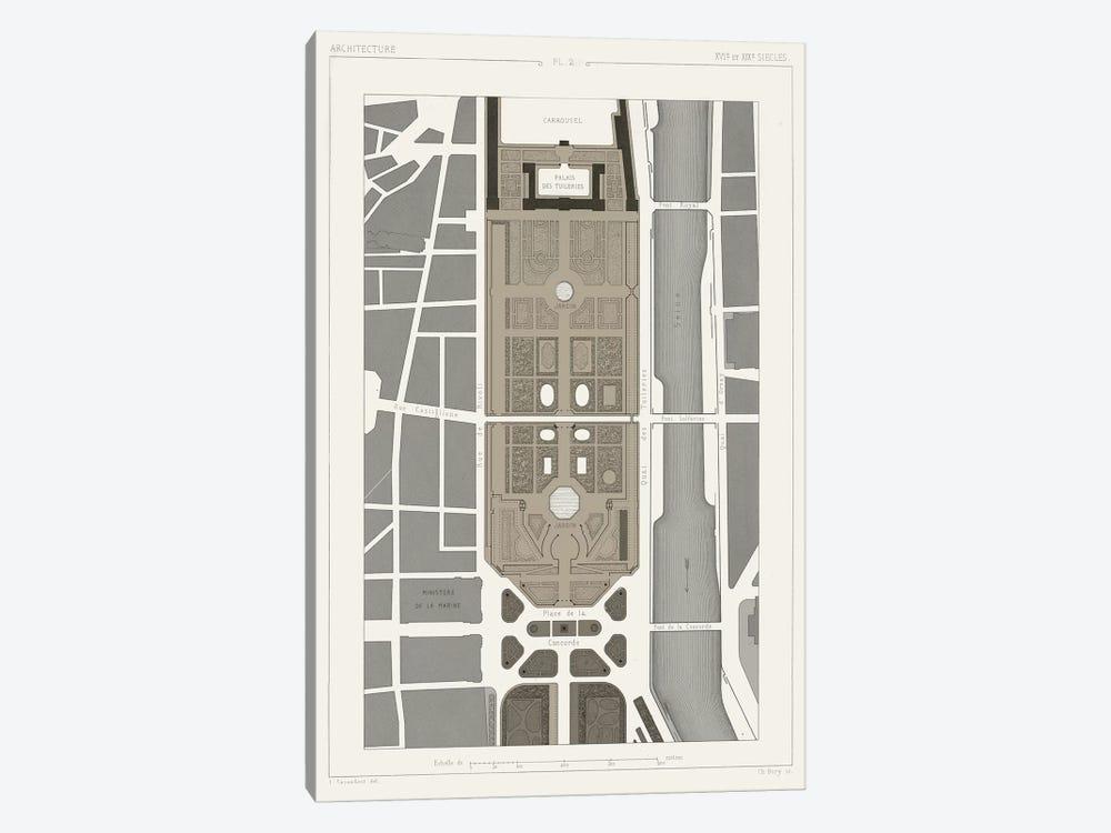 Palais des Tuileries, Paris I by Vision Studio 1-piece Canvas Art Print