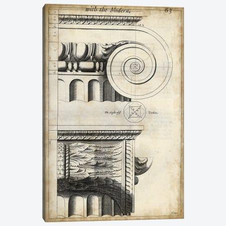 Architectural Composition II Canvas Print #VSN207} by Vision Studio Art Print