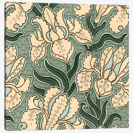 Nouveau Textile Motif II Canvas Print #VSN218} by Vision Studio Canvas Art Print
