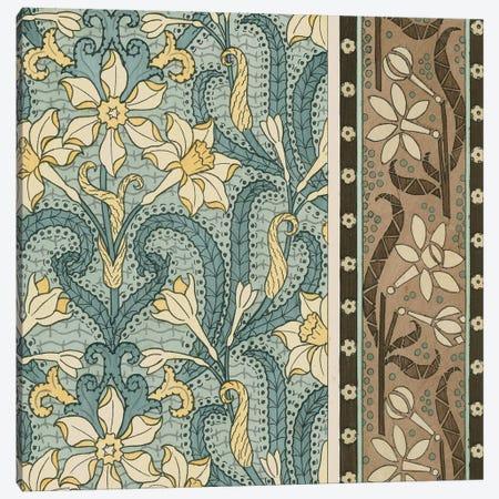 Nouveau Textile Motif III Canvas Print #VSN219} by Vision Studio Canvas Print