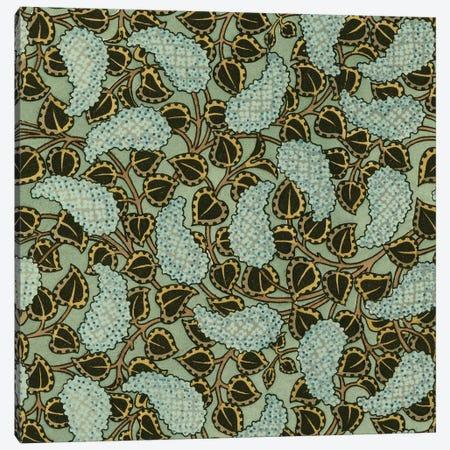 Nouveau Textile Motif V Canvas Print #VSN221} by Vision Studio Canvas Wall Art