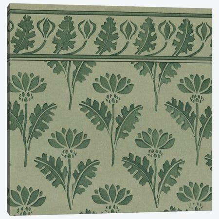 Nouveau Textile Motif VII Canvas Print #VSN223} by Vision Studio Canvas Artwork