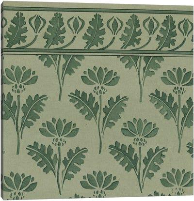 Nouveau Textile Motif VII Canvas Art Print