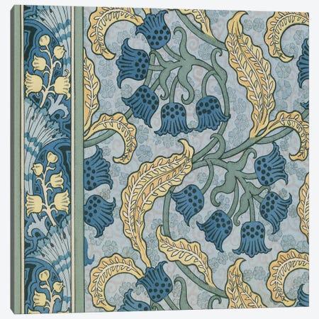 Nouveau Textile Motif VIII Canvas Print #VSN224} by Vision Studio Canvas Print