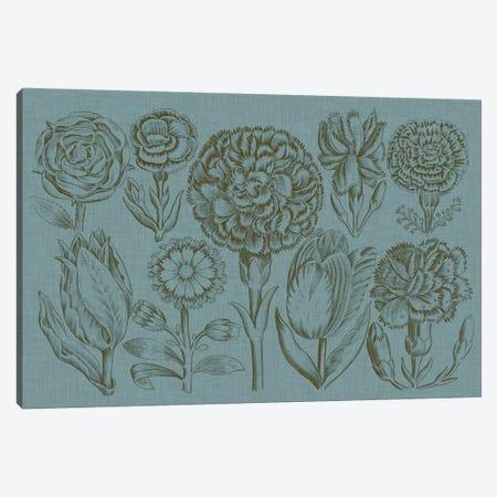 Flower Display I Canvas Print #VSN319} by Vision Studio Canvas Artwork