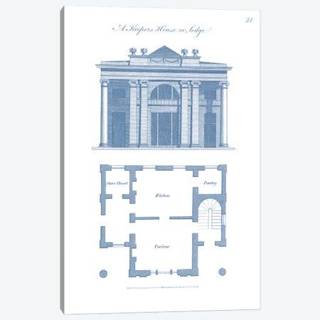 Garden Structures IV Canvas Print #VSN336} by Vision Studio Art Print