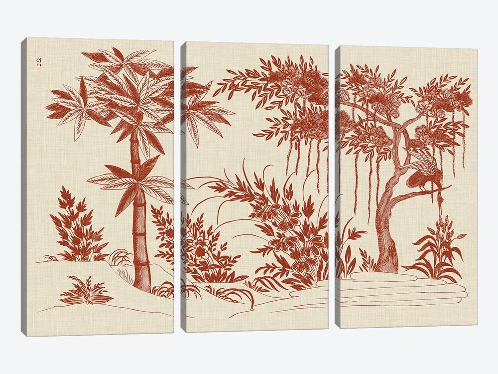 Ornamental Trees by Vision Studio 3-piece Canvas Artwork