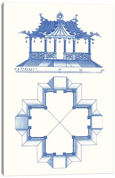Pagoda Design II Canvas Art Print