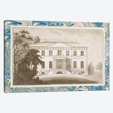 Sepia Estates I Canvas Print #VSN363} by Vision Studio Canvas Print