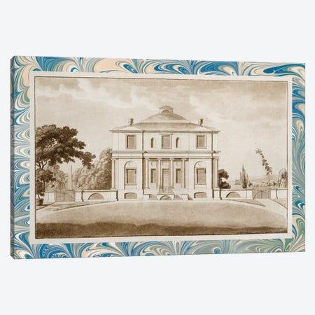 Sepia Estates V Canvas Print #VSN367} by Vision Studio Canvas Artwork