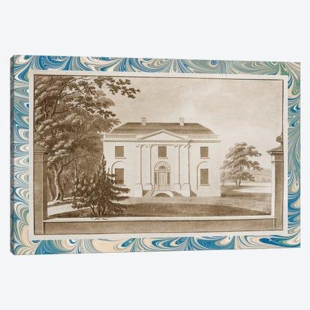 Sepia Estates VI Canvas Print #VSN368} by Vision Studio Canvas Art Print