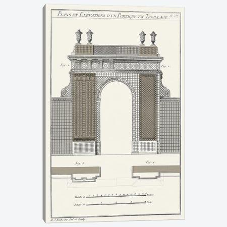 Survey Of Architectural Design III Canvas Print #VSN371} by Vision Studio Canvas Artwork