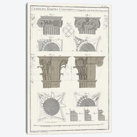 Survey Of Architectural Design IV Canvas Print #VSN372} by Vision Studio Canvas Artwork