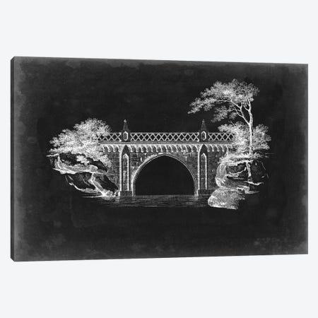 Bridge Schematic I Canvas Print #VSN413} by Vision Studio Canvas Art Print
