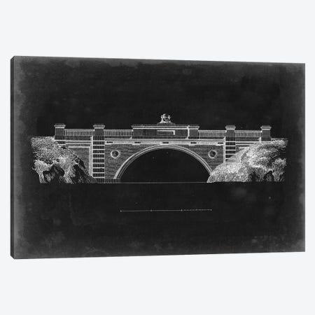 Bridge Schematic II Canvas Print #VSN414} by Vision Studio Canvas Wall Art