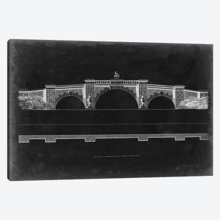 Bridge Schematic III Canvas Print #VSN415} by Vision Studio Canvas Art