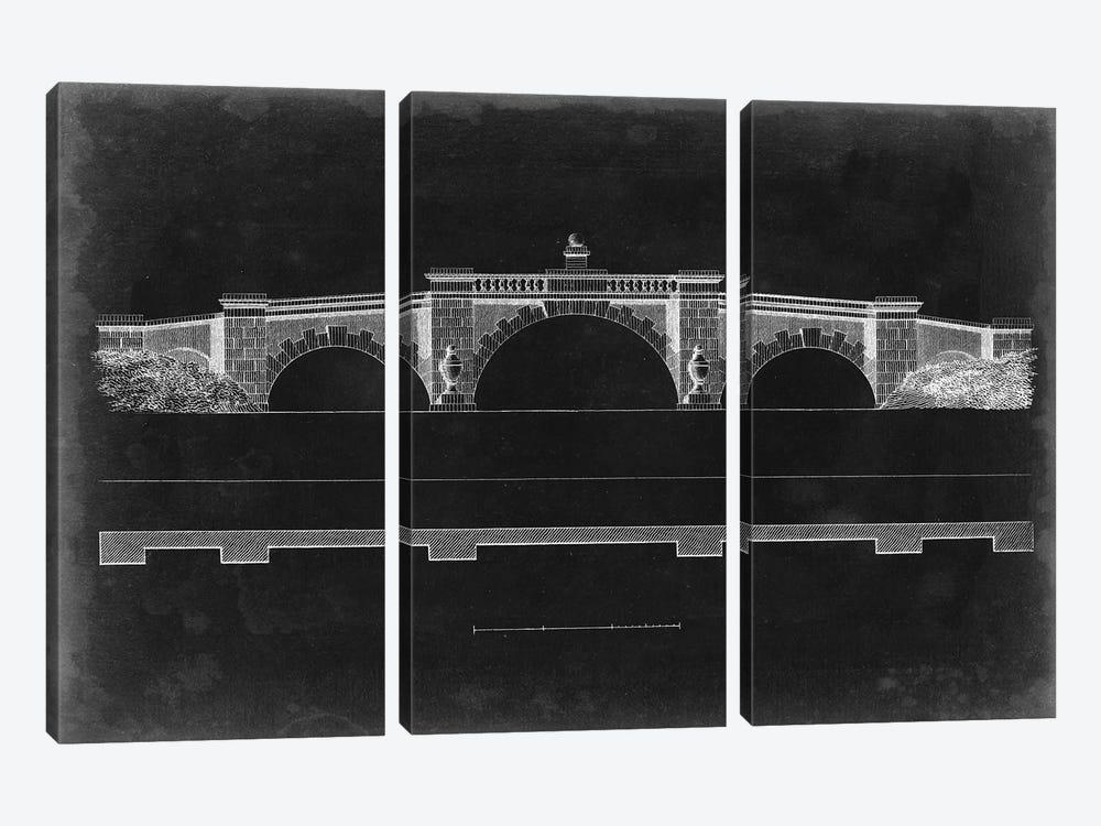 Bridge Schematic III by Vision Studio 3-piece Canvas Wall Art