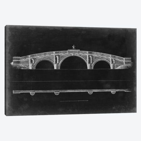 Bridge Schematic IV Canvas Print #VSN416} by Vision Studio Canvas Wall Art