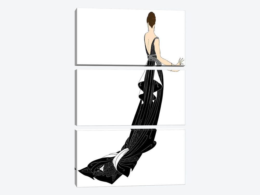 Sophisticated Ladies I by Vision Studio 3-piece Art Print