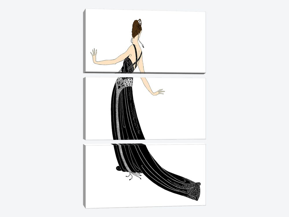 Sophisticated Ladies II by Vision Studio 3-piece Canvas Wall Art