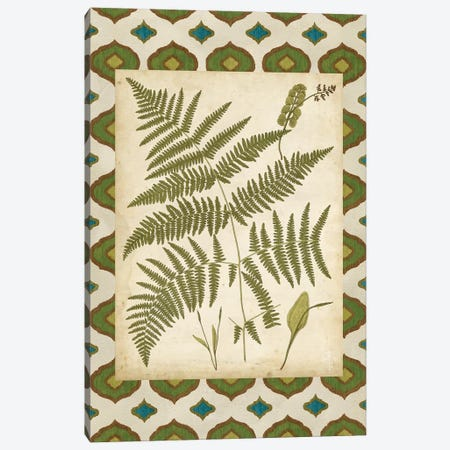 Moroccan Ferns IV Canvas Print #VSN526} by Vision Studio Canvas Artwork