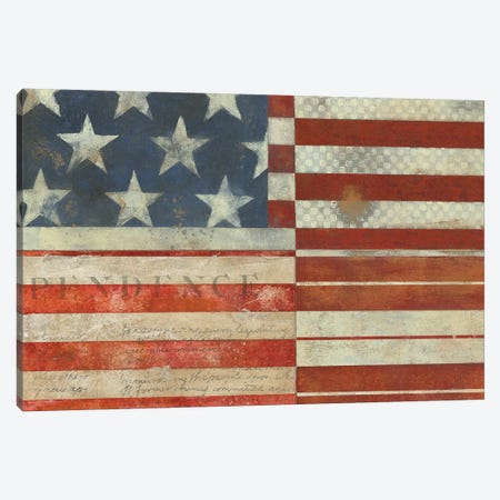 American Quilt A 3-Piece Canvas #VSN549} by Vision Studio Art Print