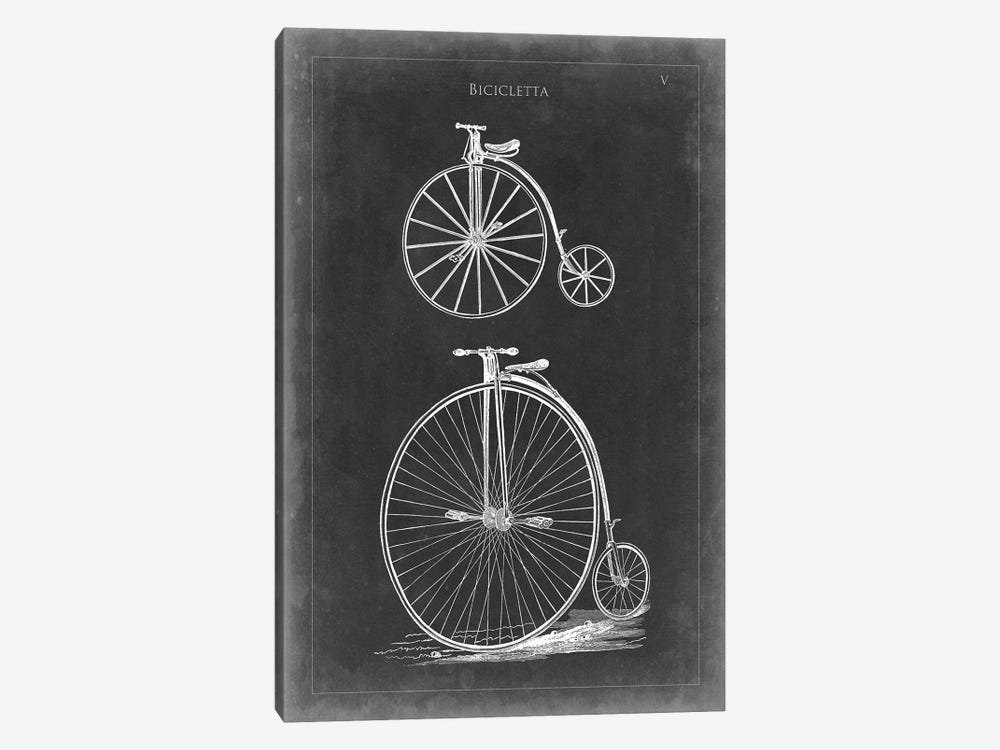 Vintage Bicycles I by Vision Studio 1-piece Canvas Print