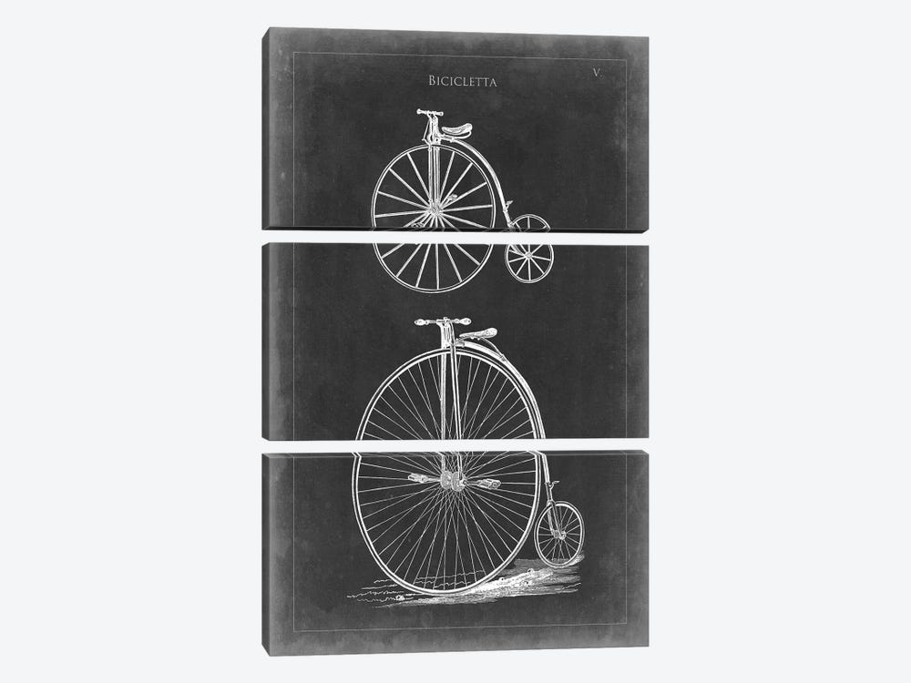 Vintage Bicycles I by Vision Studio 3-piece Art Print