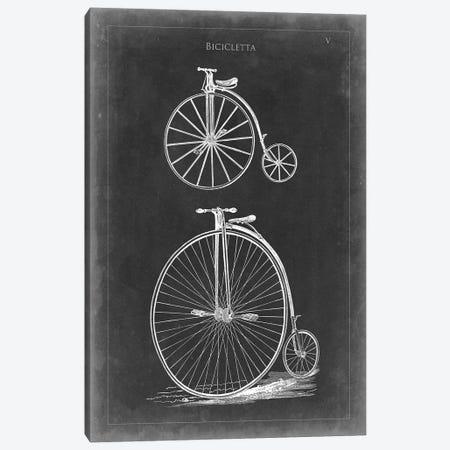 Vintage Bicycles I Canvas Print #VSN54} by Vision Studio Canvas Art