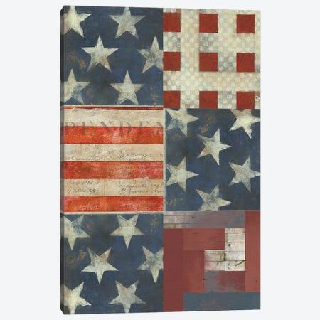 American Quilt E Canvas Print #VSN552} by Vision Studio Canvas Artwork