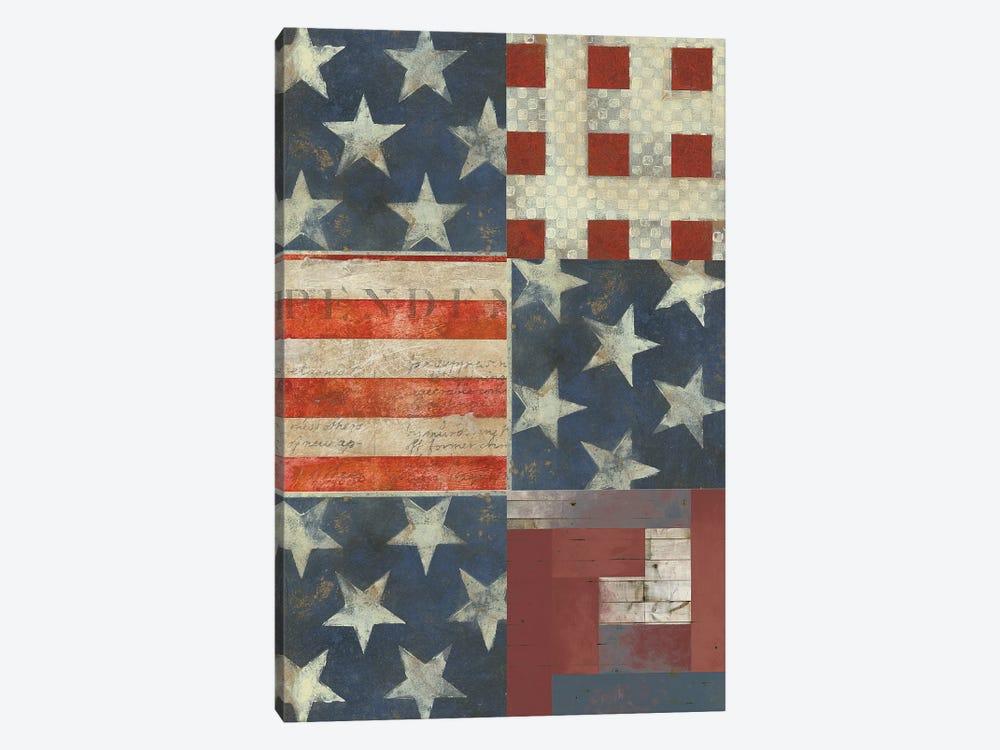 American Quilt E by Vision Studio 1-piece Canvas Art