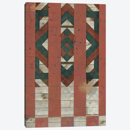 American Quilt F Canvas Print #VSN553} by Vision Studio Canvas Artwork