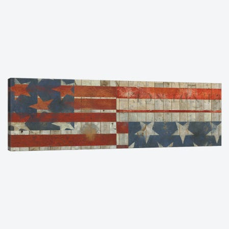 American Quilt H Canvas Print #VSN555} by Vision Studio Canvas Art Print