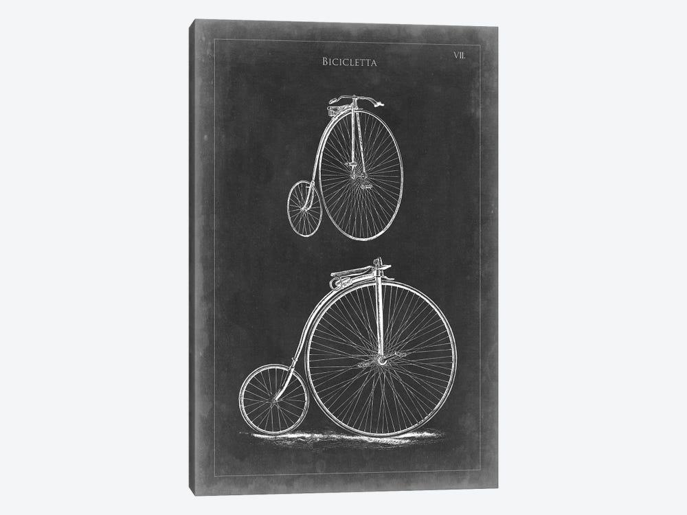 Vintage Bicycles II by Vision Studio 1-piece Canvas Artwork