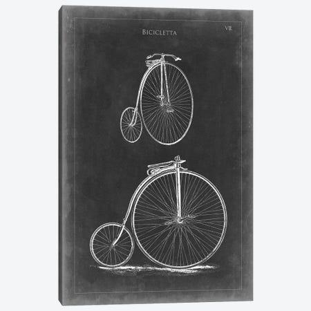 Vintage Bicycles II Canvas Print #VSN55} by Vision Studio Canvas Artwork
