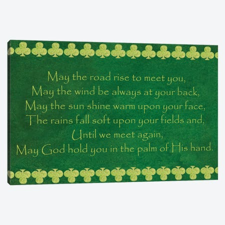 St. Pattys Collection H Canvas Print #VSN571} by Vision Studio Canvas Wall Art