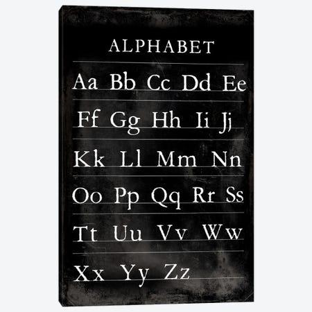Alphabet Chart Canvas Print #VSN597} by Vision Studio Canvas Print
