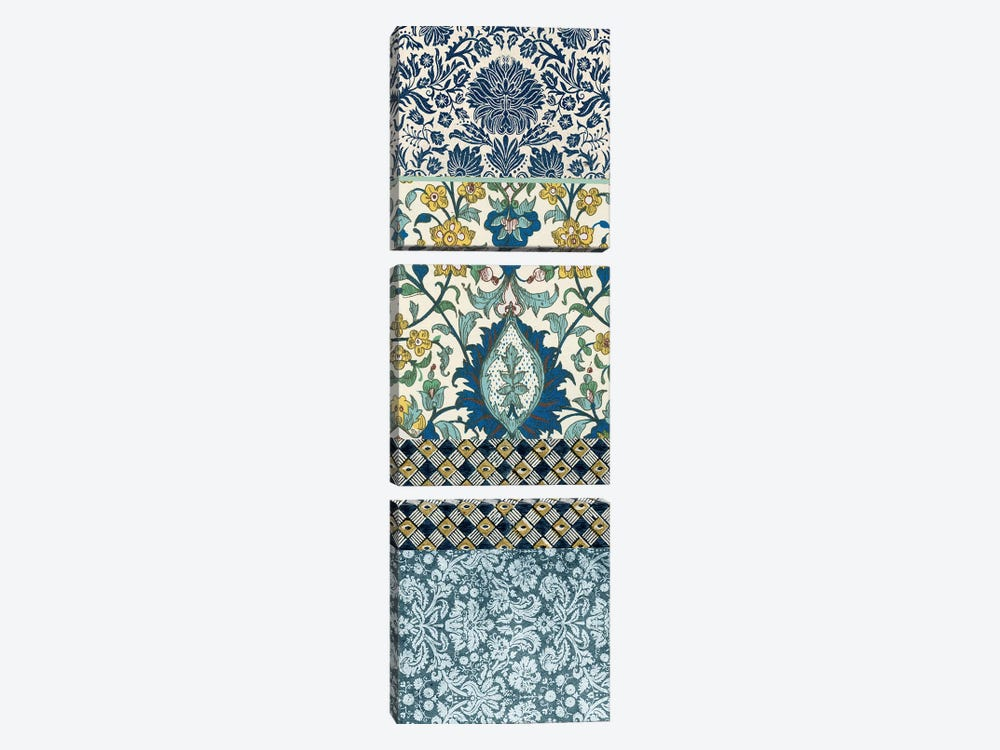 Bohemian Tapestry III by Vision Studio 3-piece Canvas Wall Art